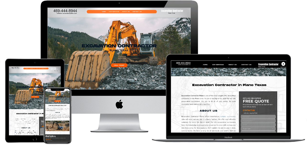 Excavation Plano Website